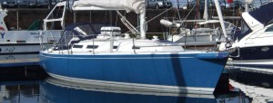 Bluebird is an American built J Boat