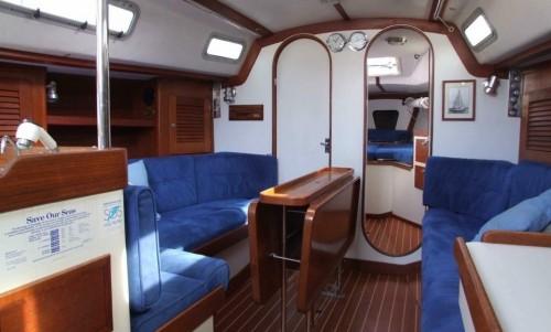 Scottish Yacht Charter Cabin