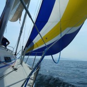Sailing on Bluebird Yacht charter in Scotland