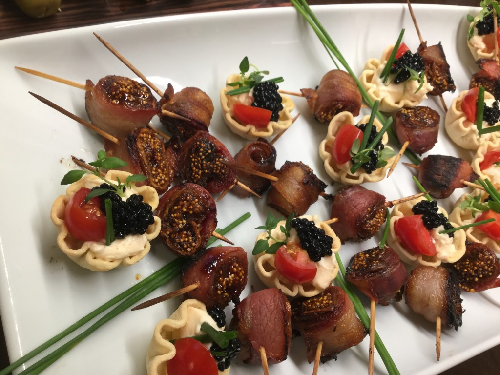 pancetta wrapped figs